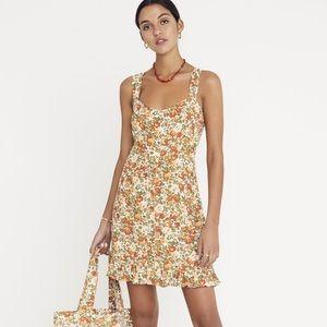 Faithfull the Brand Lou Lou Mini Dress, XS